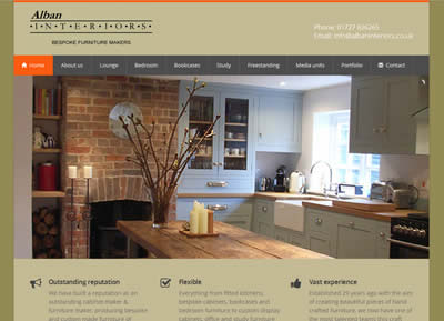 Alban Interior - website designers St Albans
