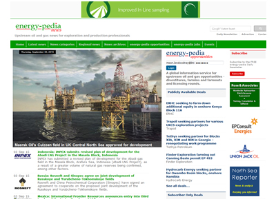 energy-pedia - website design St Albans
